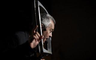 Andrea Cosentino in Telemomò, foto di Giovanni Santi Laurini